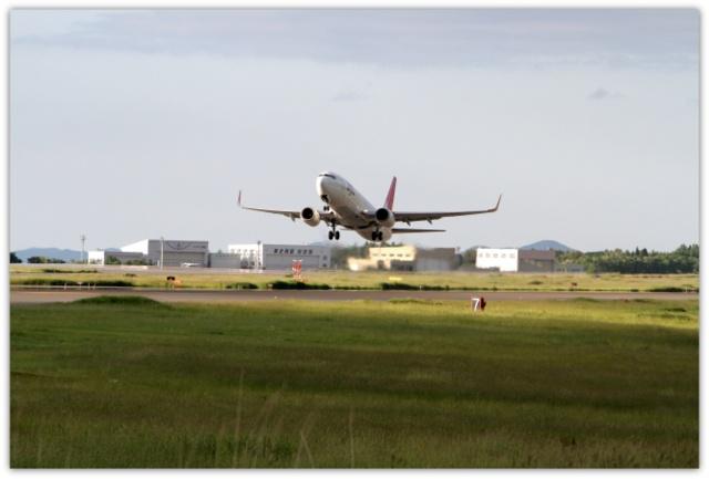 JAL EXPRESS BOEING 737-800 AOMORI AIRPORT