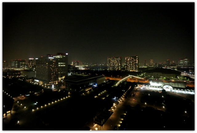 東京ベイ有明ワシントンホテルからの眺め