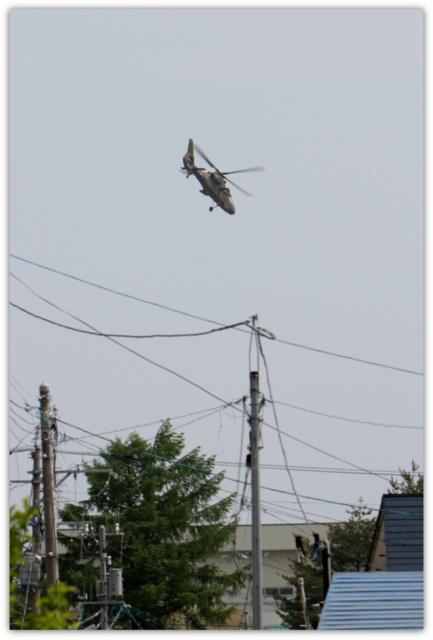 青森駐屯地 自衛隊 ヘリコプター