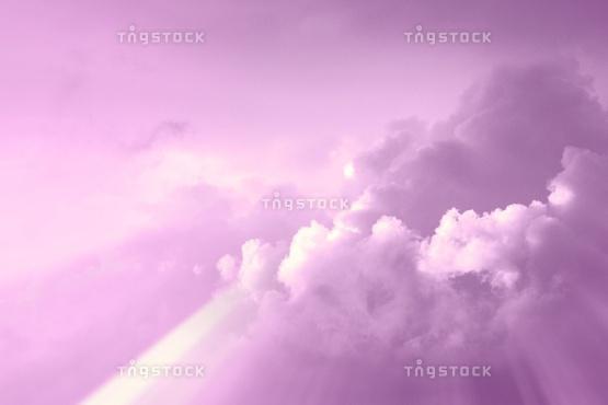 葡萄色の空