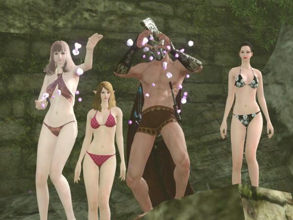 水着美女と変態の集い