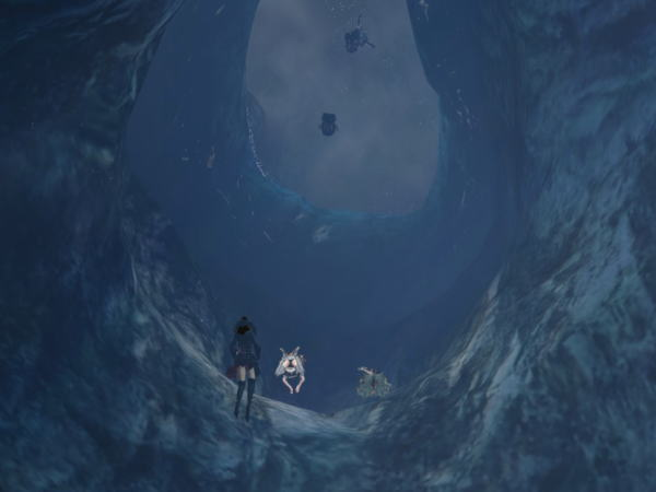 海底洞窟&神殿ツアー⑦