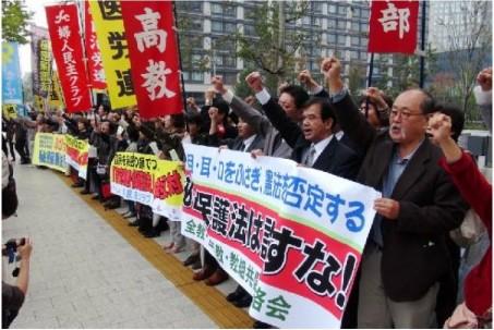 秘密保護法抗議106