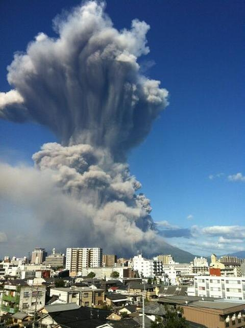 桜島大噴火