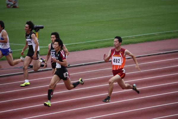 男子100M決勝0629