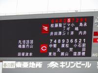 13.5.26 今日のスタメン