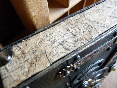 Steampunk Book type keepsake box