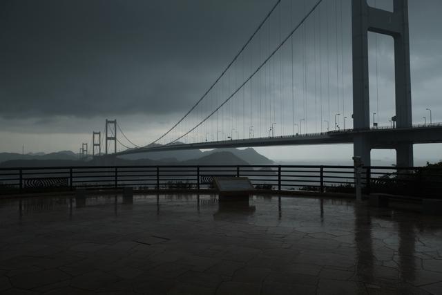 豪雨しまなみ