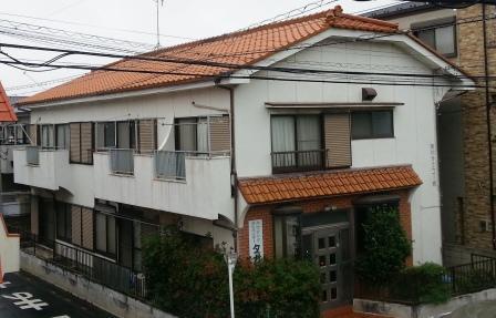 前川第2コーポの屋根