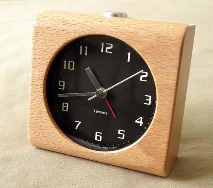 Lemnos目覚まし時計 01