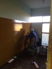 20141024 馬房の改修工事