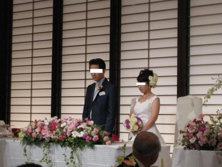仏前結婚式 029