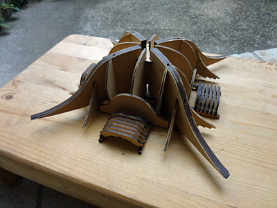 神輿模型 唐破風