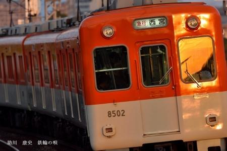 阪神本線 杭瀬-大物 8502F S(01)