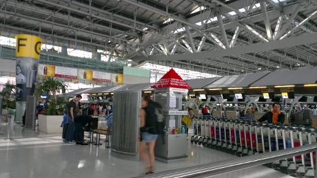 タイ パスポート汚れ入国拒否画像
