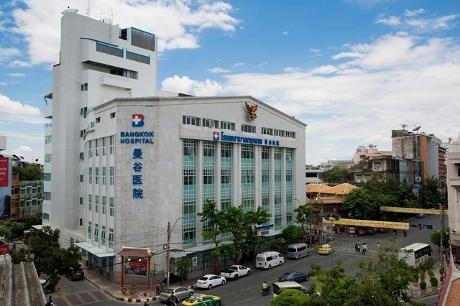 バンコク病院ヤワラー画像