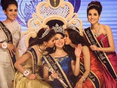 タイ美人コンテスト ナーンサーオタイ優勝