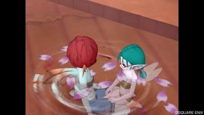 ユネさんとお風呂