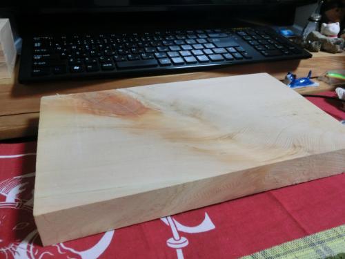 ヒノキの板