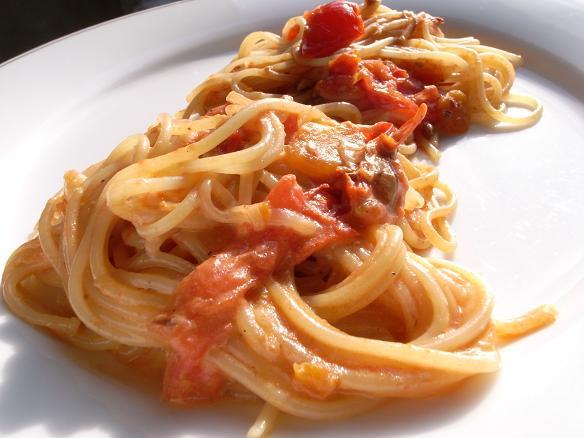 spaghetti alla tonjiru_2013