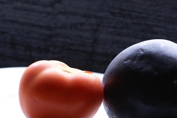 pomo e melanzane
