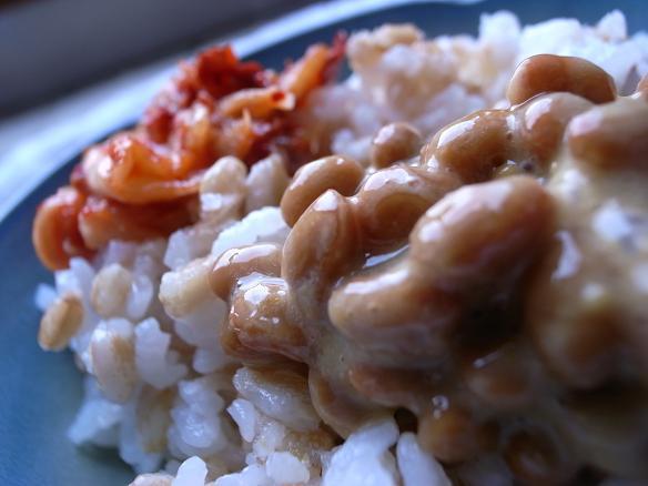 nattou e kimchi