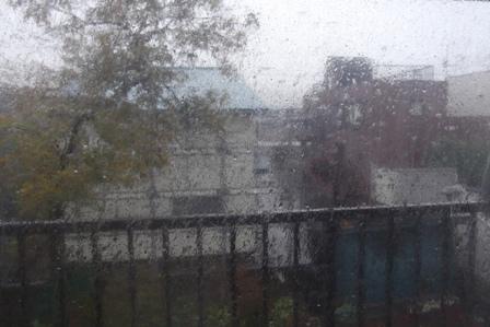 金曜日の暴風雨
