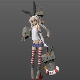 島風型駆逐艦 島風ちゃん 9