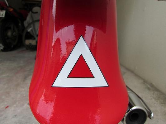 三角ステッカー 1