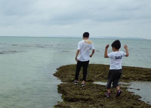 瀬長島のリーフ (3)
