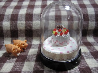 1円ケーキ完成
