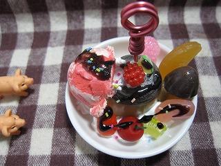 皿パフェ1