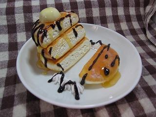 ホットケーキスマホスタンド1