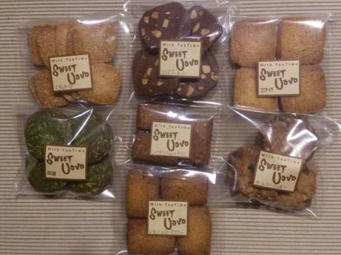 詰め合わせのお菓子7種類
