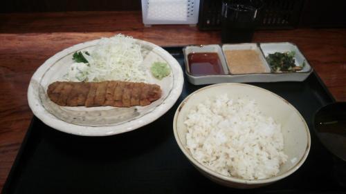 牛ロースかつ麦めしせっと(小)