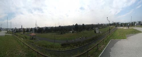 舎人公園 パノラマ2