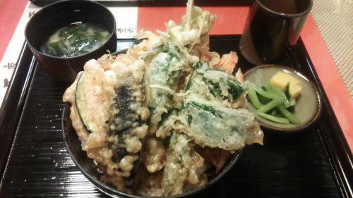 天正 お野菜天丼