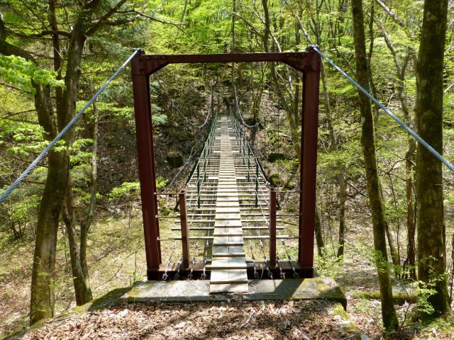 もみじの吊橋1