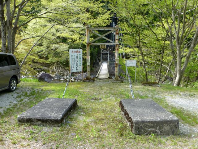 夏焼吊橋1