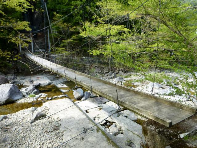 夏焼吊橋2