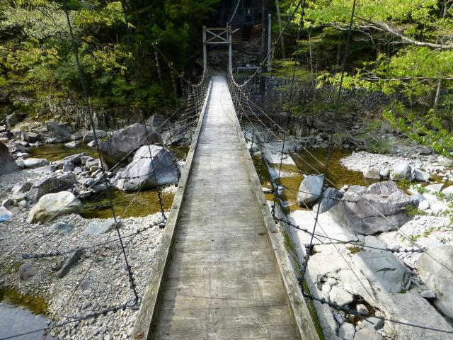 夏焼吊橋3