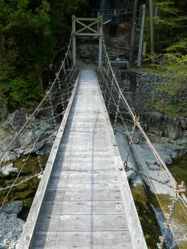 夏焼吊橋4