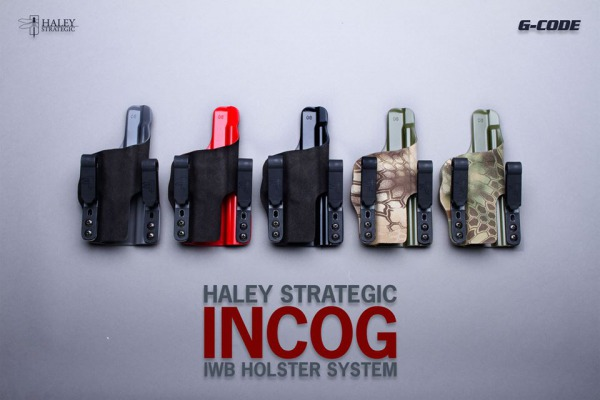 INCOGホルスターに新たなカラーバリエーションが登場