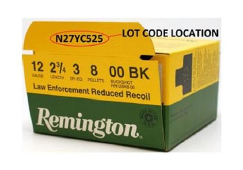 レミントン製で弾薬のリコール発生