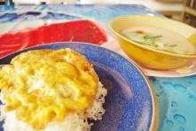 タイ雑貨通販の泰国屋(たいこくや) タイ王国出張旅行ブログ写真01_タイ王国チェンマイでのタイ料理 朝食写真