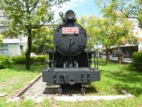 花蓮鐵路公園の蒸気機関車LDT103正面から130920