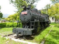 花蓮鐵路公園の蒸気機関車LDT103左から130920