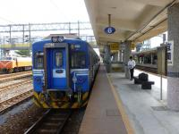 EMU500區間快車宜蘭站着130920