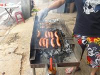 樹林BBQの本格BBQ焼き台130921