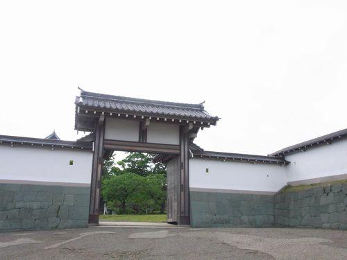 搦手二ノ門跡